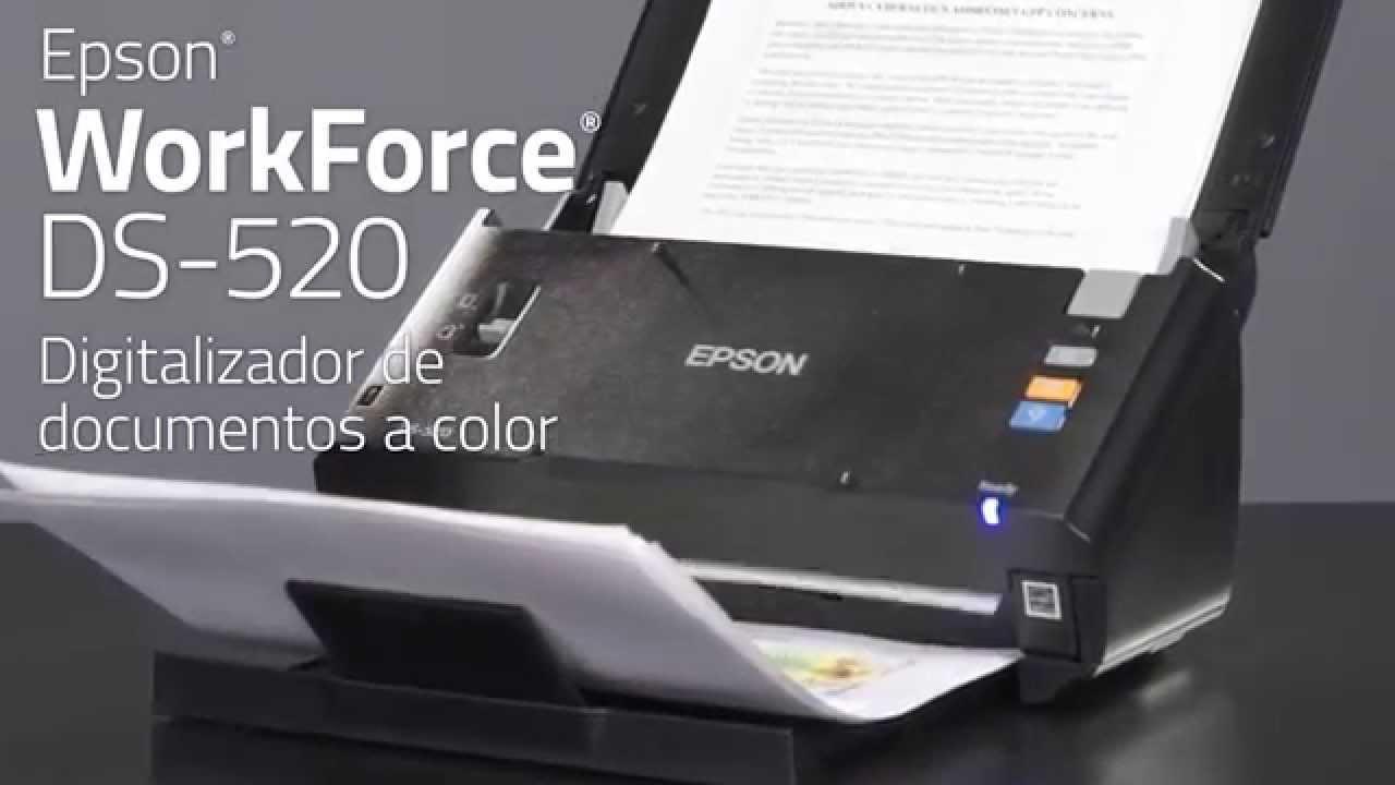 סורק Epson WorkForce DS-520