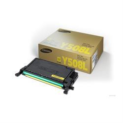 טונר צהוב מקורי SAMSUNG CLT-Y508L 4K