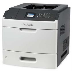 מדפסת לייזר ש/ל דופלקס תוצרת Lexmark דגם MS811dn