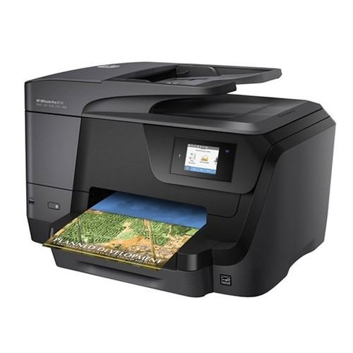 מדפסת הזרקת דיו HP OfficeJet Pro 8710 D9L18A